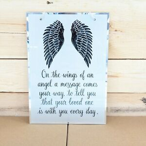 Angel Wings / Wings and Feather Hanging Plaques