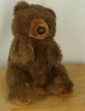 24K Polar Bear Puff Brown Puppet Plush Toy Animal