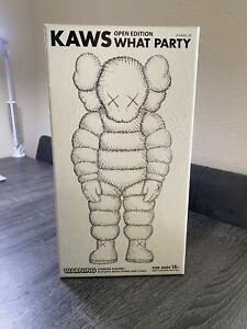 Kaws What Party (White)