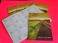 SKODA Service Book New Unstamped History Maintenance Record Generic Blank Cars