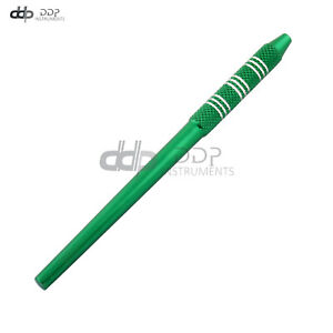 1 Pc Stainless Steel Dental Mouth Mirror Handle 4.5'' Green Color DN-2297