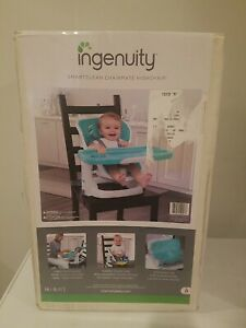 Ingenuity SmartClean ChairMate High Chair - Peacock Blue. New in the box.
