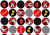 DISNEY MINNIE MOUSE  DOTS  POLYESTER / COTTON BLEND  SPRINGS FABRIC  BY THE YARD