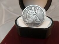 1858-O 50C Liberty Seated Half Dollar # C 1254