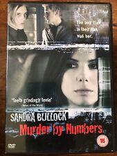 Sandra Bullcok Ryan Gosling MURDER BY NUMBERS Superb 2002 Mystery Thriller DVD