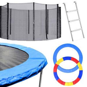 Round Trampoline Pad /Trampoline Net /Ladder Enclosure Safety Spring  8 10 12FT
