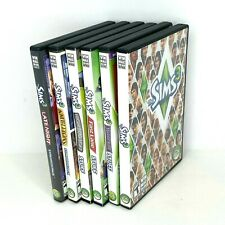Lot of 6 - THE SIMS 3 - Original Game & 5 Expansions WIN MAC DVD-ROM Software EA