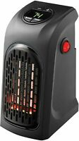 ONTEL Handy Heater The Wall Outlet Plug Space Heater Quick & Easy.