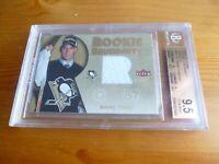 2005-06 Sidney Crosby Fleer Ultra Rookie Card Uniformity Jersey BGS 9.5 GEM MINT