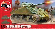 Airfix A01303 M4 Sherman MkI Tank Kit scale 1/76 New Boxed T48