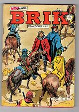 ► BRIK   N°196 - LE PRISONNIER DU CHACAL  - 1982 - MON JOURNAL - TBE