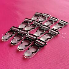 Plastic Corset Garter Belt Grip Suspender Button/Stocking Strap Clip 12mm Wide