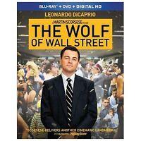 The Wolf of Wall Street (Blu-ray + DVD + Blu-ray