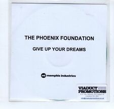(GP8) The Phoenix Foundation, Give Up Your Dreams - 2015 DJ CD