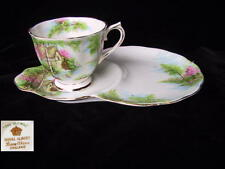 Royal Albert THE OLD MILL Tennis / Hostess Tray & Cup Set  1st Eng c1950