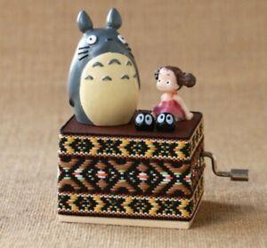MY NEIGHBOR TOTORO WITH MEI KUSAKABE WEAVING HAND CRANK MUSIC BOX