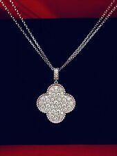 Magic Lucky Motifs 18 K Gold Long Necklace/ Earrings
