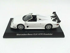 KYOSHO 1:64 - MiniCar Collection Diecast Mercedes - Benz CLK GTR Roadster BLANCO