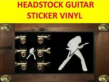 DAVE MUSTAINE MEGADETH STICKER WHITE SIGNATURE VISIT OUR STORE WITH MORE MODELS