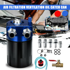 Oil Catch Can Baffled Breather Petrol Diesel Turbo Tank Reservoir Filter 300ML