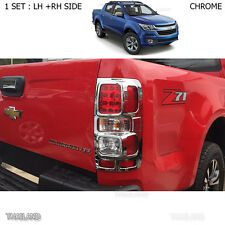 Chrome Back Tail Lamps Light Cover For Chevrolet Holden Colorado 4x2 4x4 2017