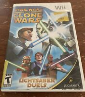 Star Wars: The Clone Wars - Lightsaber Duels Nintendo Wii