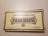 Vintage PARCHEESI GAME Gold Seal Edition 1959 Original Wood Pieces