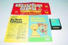 BIG BIRD'S FUNHOUSE GAME CARTRIDGE FOR ATARI 400/800/800XL/1200XL/XE