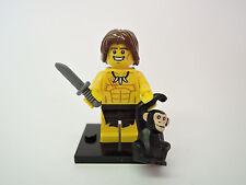 Lego Figur Sammelfigur Serie 7 Nr.10  Dschungelkind   neuw.   COL106