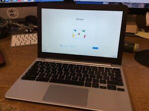 """ASUS C201P 11.6"""" Chromebook Rockchip RK3288C 2GB 16GB Read Desc"""