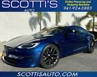 2021 Tesla Model S Plaid~QUICKEST ACCELERATION OF ANY ELECTRIC VEHICL 2021 Tesla Model S, Deep Blue Metallic with 49 Miles available now!