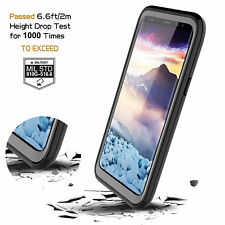 For Samsung Galaxy S9 Plus Waterproof Case Built-in Screen Protector Clear Back
