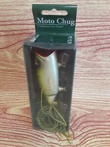 Chuck Woolery MOTO CHUG FROG Spring Loaded Tail Shaking Wounded Minnow Action