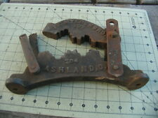 "Vintage Triple Jaw Pipe Vise for up to 3"" Pipe ( F.E.MYERS+BRO. #703+704 )"