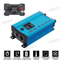 3000W Car Solar Power Inverter DC 12V To AC 220V Sine Wave Converter XYL Blue