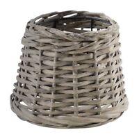 Eglo 1+1 Vintage Lamp Shade E27/E14 - Vintage Bast Grey