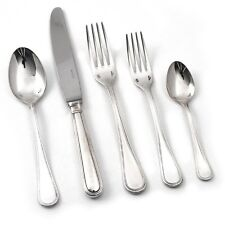 Sambonet Contour Stainless 5 piece place setting solid handle