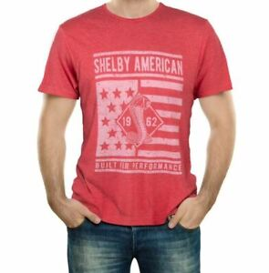 Shelby American Built For Performance Shirt Ford Mustang GT500 Cobra Terlingua