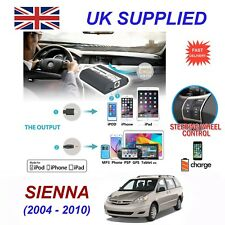 For Toyota Sienna iPhone 5 6 7 8 SE 10 mp3 Aux Audio CD Changer Digital Module 6