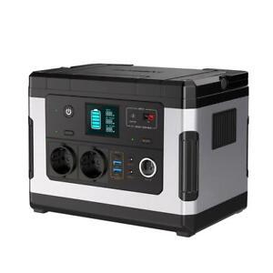 G500 Générateur Solaire USB Portable Power Station 500Wh pour Extérieur Camping