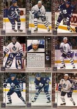 2001-02 BAP Be A Player Memorabilia Toronto Maple Leafs Complete Team Set (12)