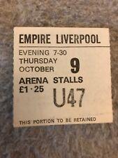 Black Sabbath concert ticket 1975 Liverpool Empire - Sabotage tour