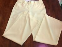 Body by Victoris The Christie Fir Stretch Pants size 4 Short NEW