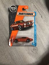 matchbox Kids Car Toys 71 Pontiac Fire Bird