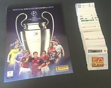 Panini Champions League 2012 Soccer Complete loose stickers set + empty album