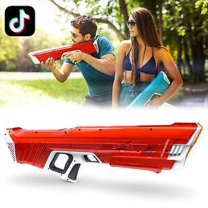 💦 Spyra TWO Water Gun Red Version - David Dobrik TikTok 🔫  READY TO SHIP NEW