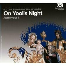 Anonymous 4 - On Yoolis Night: Medieval Carols And Motets For Christmas (NEW CD)