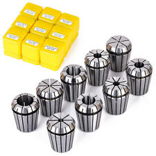 9pc ER32 Durable Spring Collet 2-20mm CNC Milling Lathe Workholding Precise Tool