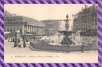 CPA 33 - BORDEAUX - fontaine place de la comedie