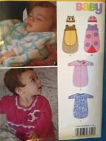 New Look Sewing Pattern 6252 Infants Babies Sleeping Bag Size NB-L Uncut